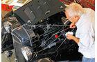 Adler Trumpf Cabrio, Motor, Bruno Schmaus