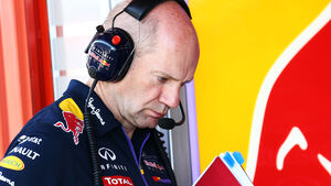 Adrian Newey - Red Bull - 2014