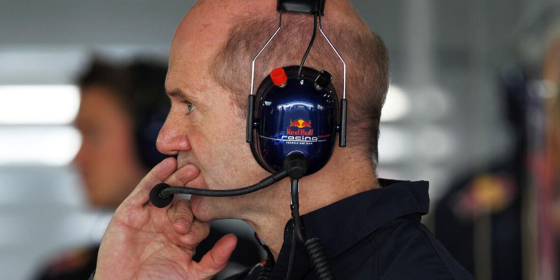 Adrian Newey - Red Bull - Formel 1 - GP Korea - 12. Oktober 2012
