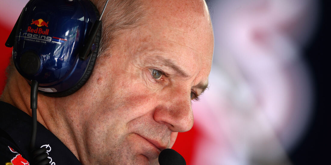 Adrian Newey - Red Bull - GP Malaysia - Training - 23. März 2012