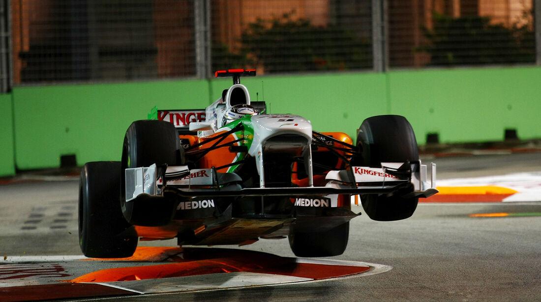 Adrian Sutil F1 Highlights Karriere