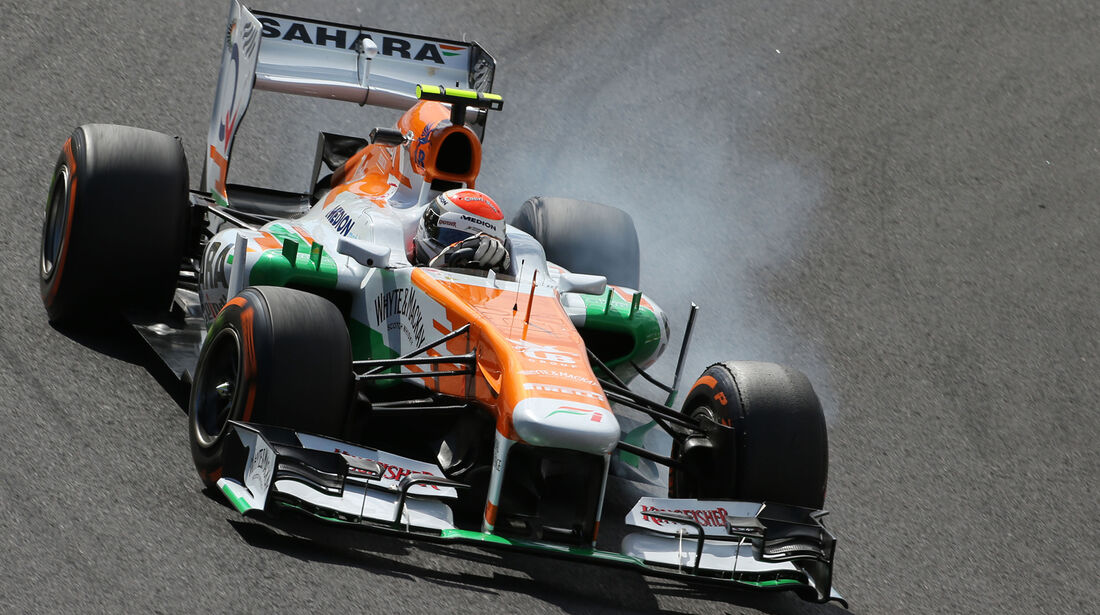 Adrian Sutil - Force India - Formel 1 - GP Japan 2013