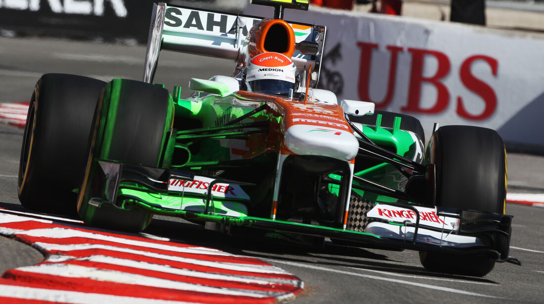 Adrian Sutil - Force India - Formel 1 - GP Monaco - 23. Mai 2013