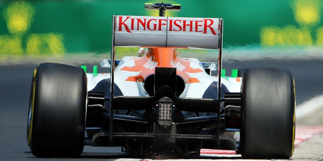 Adrian Sutil - Force India - Formel 1 - GP Ungarn - 27. Juli 2013