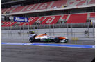 Adrian Sutil - Force India - Formel 1 - Test - Barcelona - 1. März 2013