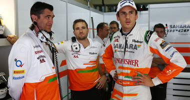 Adrian Sutil - Force India - GP Brasilien - 23. November 2013