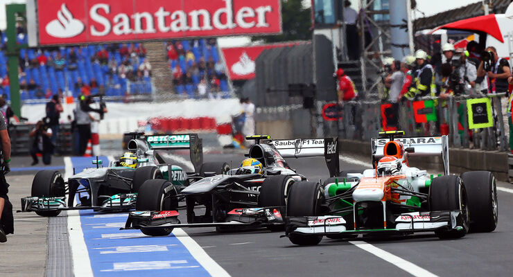Adrian Sutil - Force India - GP Deutschland 2013