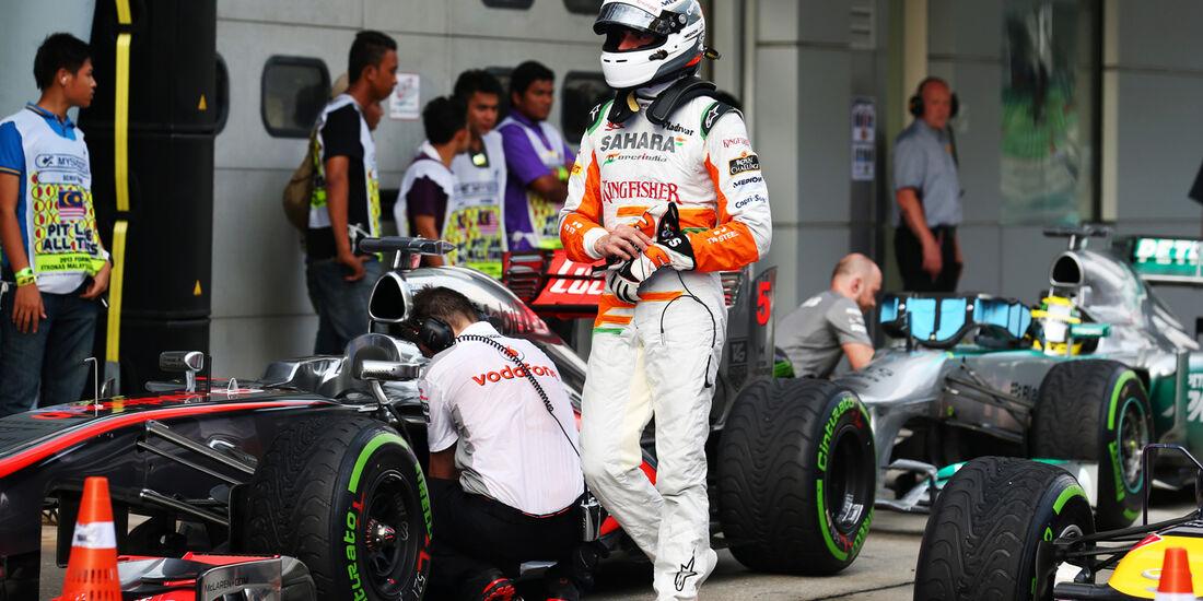 Adrian Sutil - Force India - GP Malaysia - 23. März 2013