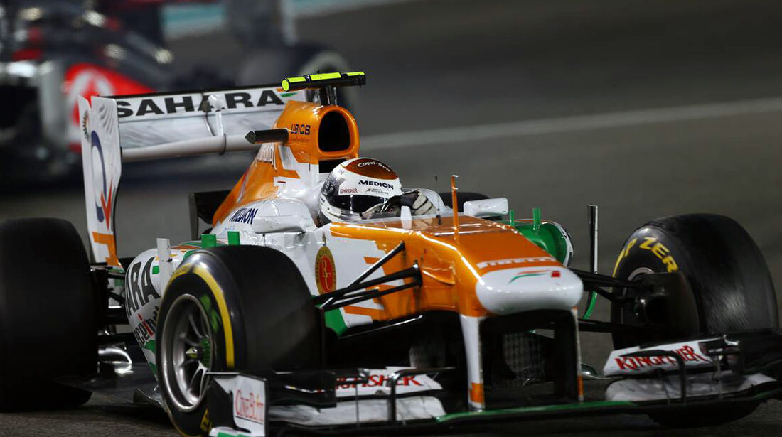 Adrian Sutil - Formel 1 - GP Abu Dhabi - 03. November 2013
