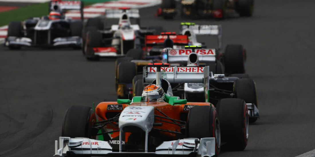 Adrian Sutil - Formel 1 - GP Korea - 16. Oktober 2011