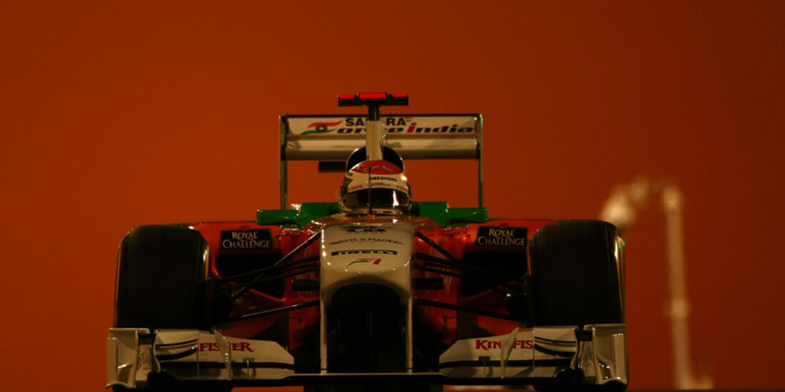 Adrian Sutil - GP Abu Dhabi - Qualifying - 12.11.2011