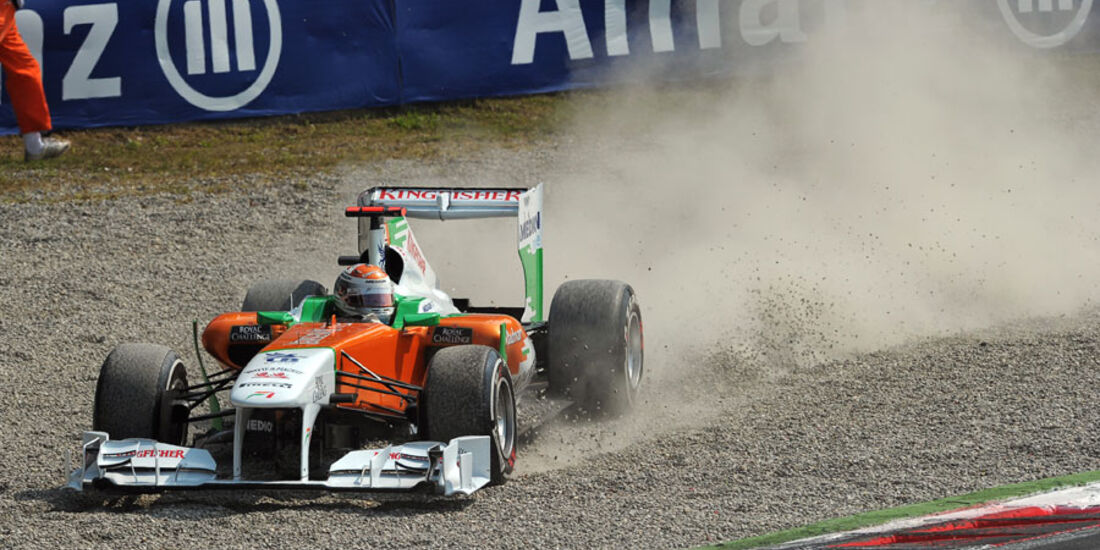 Adrian Sutil GP Italien Monza 2011
