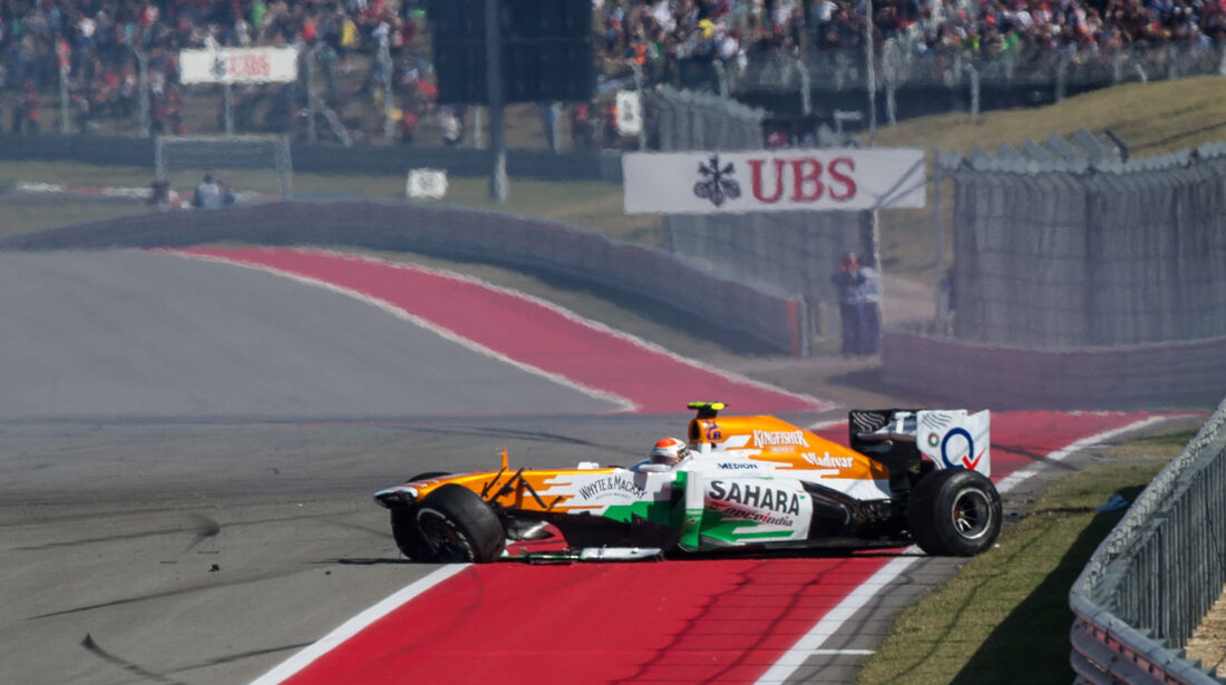 Adrian Sutil - GP USA 2013