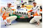 Adrian Sutil & Paul di Resta - Force India - Formel 1 - GP Kanada - 7. Juni 2013