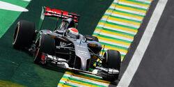 Adrian Sutil - Sauber - Formel 1 - GP Brasilien - Sao Paulo - 7. November 2014