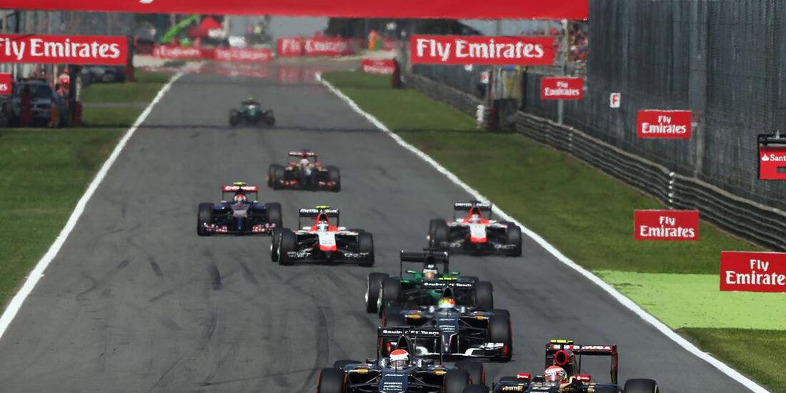 Adrian Sutil - Sauber - Formel 1 - GP Italien - 7. September 2014