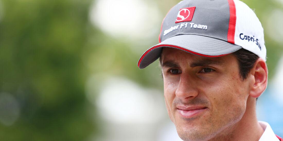 Adrian Sutil - Sauber - Formel 1 - GP Malaysia - 27. März 2014