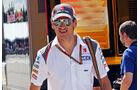 Adrian Sutil - Sauber - Formel 1 - GP Ungarn - 24. Juli 2014