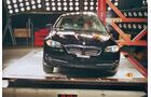 Airbag, Crashtest, Euro-NCAP-Test, Pfahlaufprall