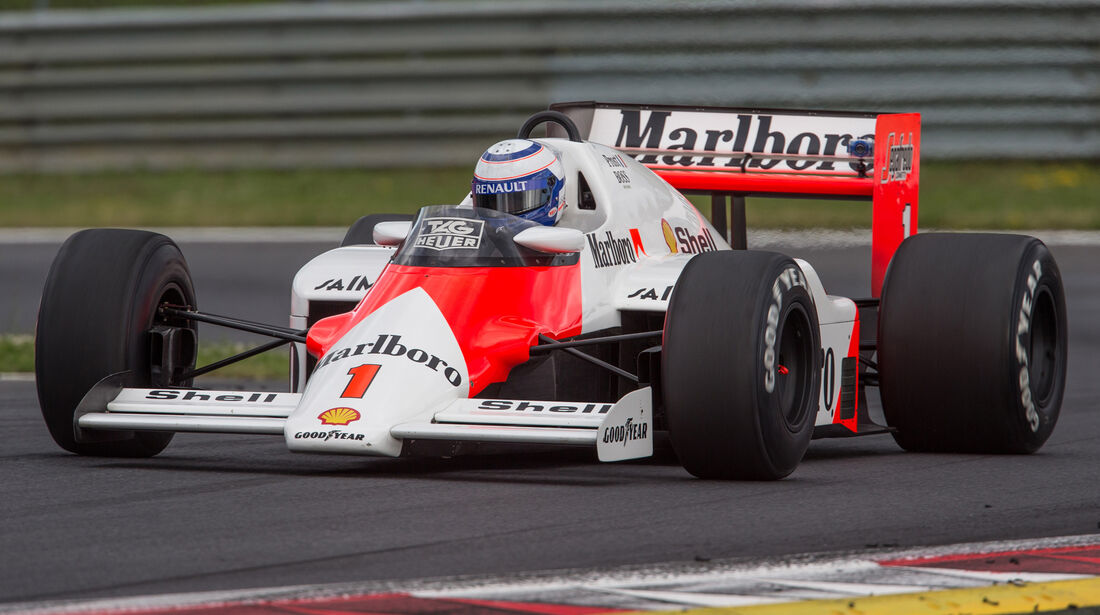 Alain Prost - McLaren MP4-2B - Legends Parade - GP Österreich 2015