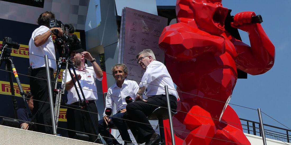Alain Prost & Ross Brawn - GP Frankreich - Paul Ricard - Formel 1 - 21. Juni 2018