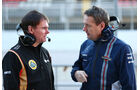 Alan Permane - Lotus - Steve Nielsen - Williams - Formel 1-Test - Barcelona - 19. Februar 2015
