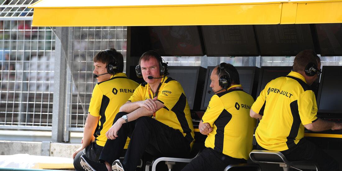 Alan Permane - Renault - Formel 1 - GP Ungarn - 22. Juli 2016