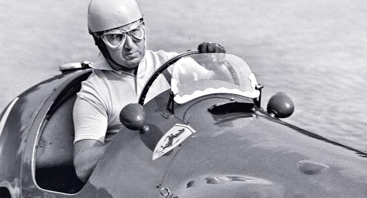 Alberto Ascari - Ferrari 625 - GP Italien 1954