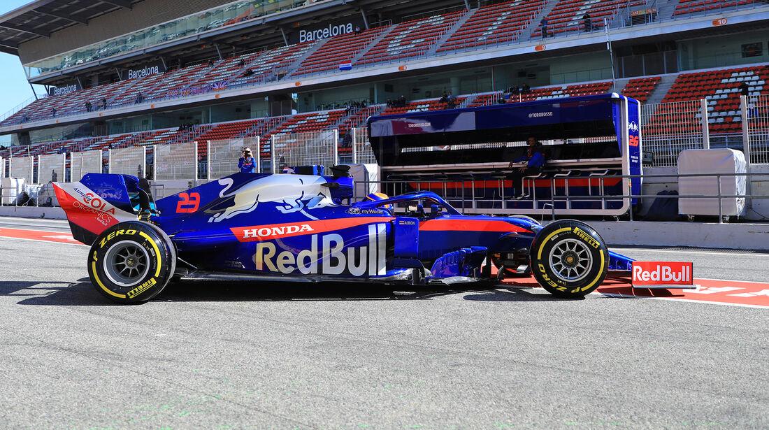 Alex Albon - Toro Rosso - F1-Test - 26. Februar 2019