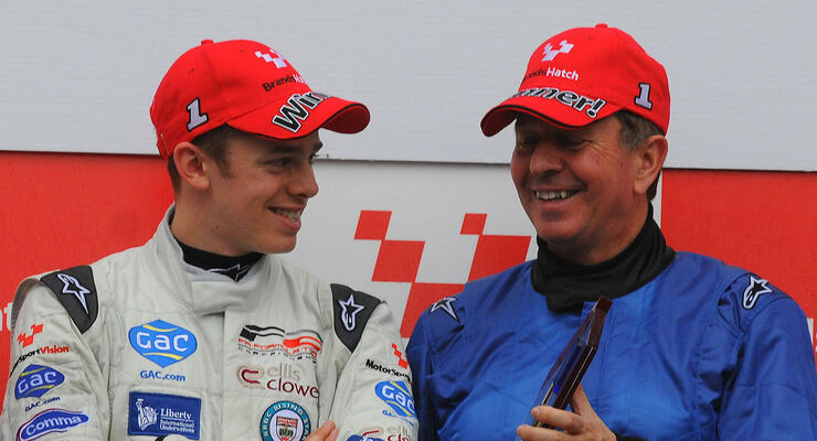 Alex Brundle (GBR), Martin Brundle (GBR)