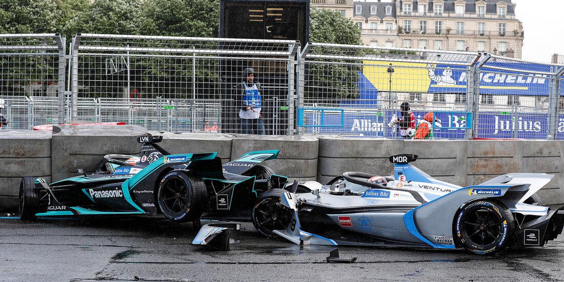 Alex Lynn & Edoardo Mortara - Formel E - Paris - 2019