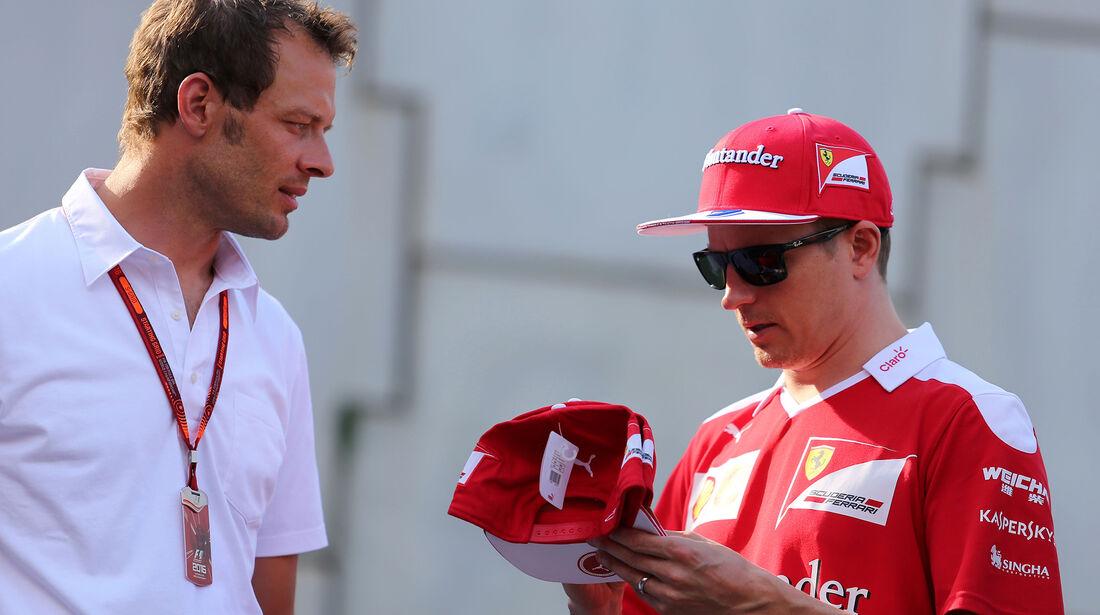 Alex Wurz & Kimi Räikkönen - Formel 1 - GP Belgien - Spa-Francorchamps - 27. August 2016