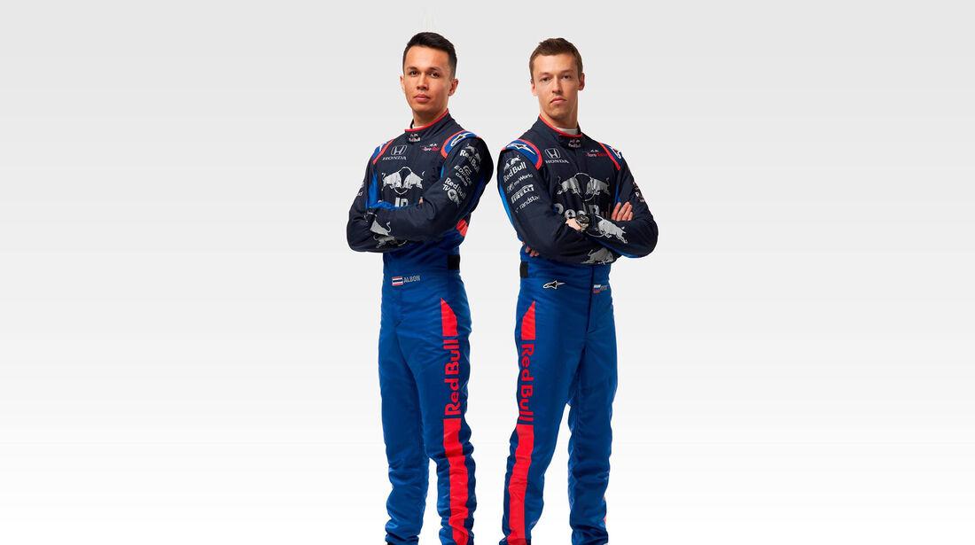 Alexander Albon & Daniil Kvyat - Toro Rosso - STR14 - F1-Saison 2019