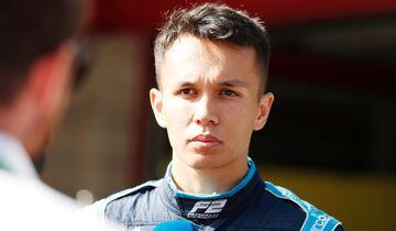 Alexander Albon - Formel 2 - 2018