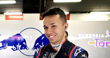 Alexander Albon - Toro Rosso - F1-Test - 2019