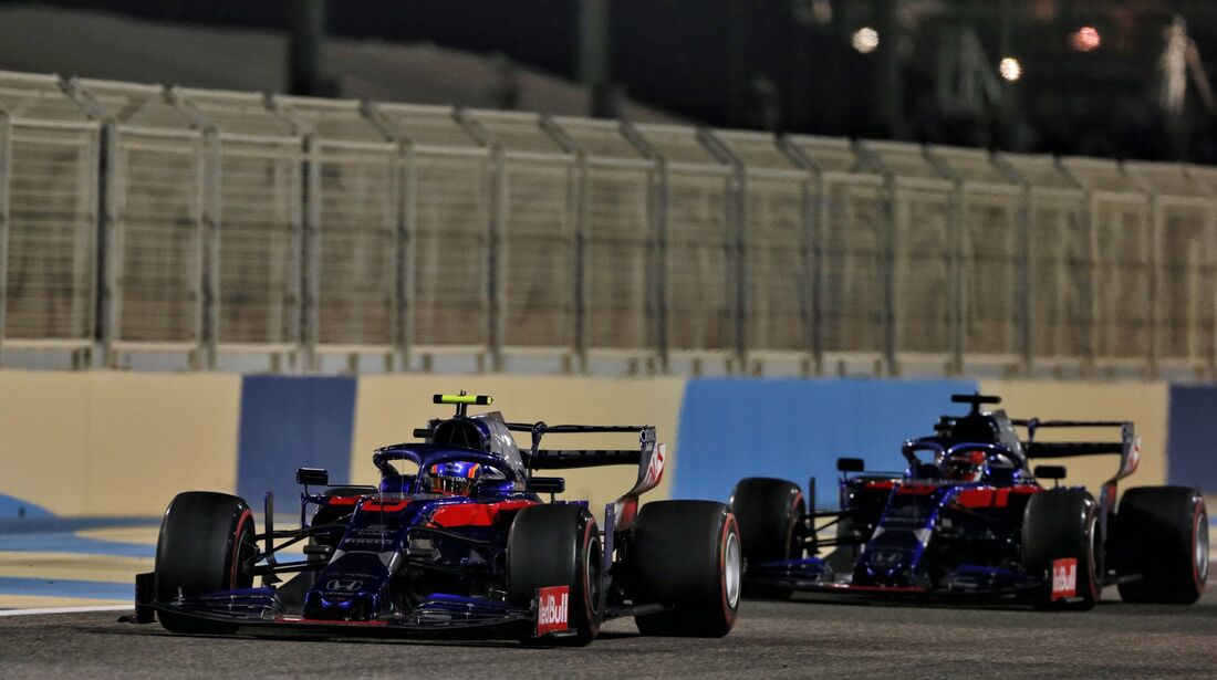 Alexander Albon - Toro Rosso - Formel 1 - GP Bahrain - 31. März 2019