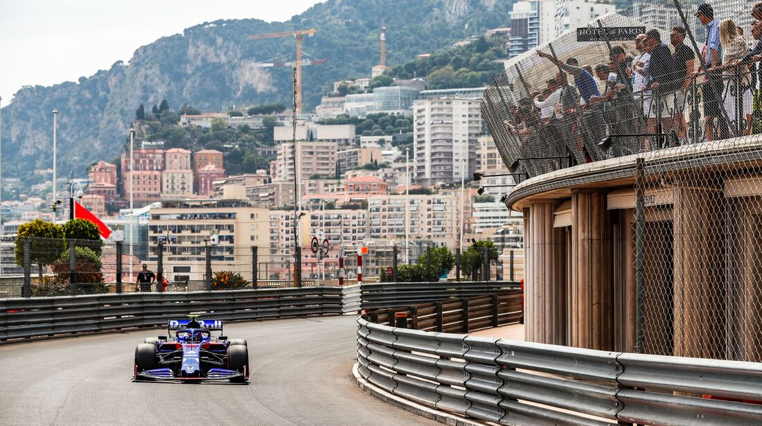 Alexander Albon - Toro Rosso - Formel 1 - GP Monaco - 25. Mai 2019