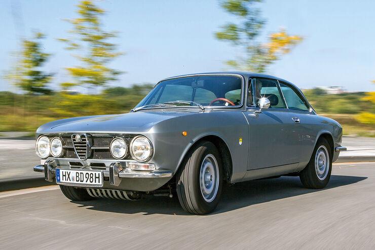 Alfa Romeo 1750 GTV, Frontansicht
