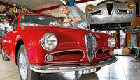 Alfa Romeo 1900 Sprint Coupé Pinin Farina, Hans-Jürgen Döhren, Frontansicht