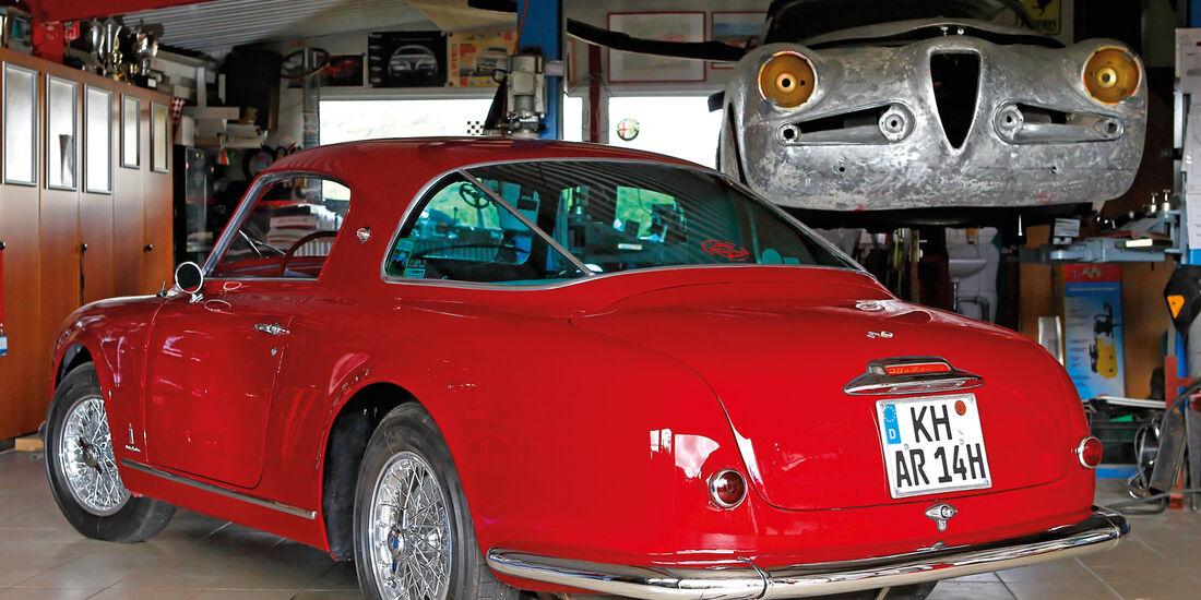 Alfa Romeo 1900 Sprint Coupé Pinin Farina, Heckansicht