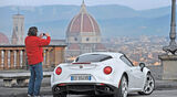 Alfa Romeo 4C, Heckansicht, Heinrich Lingner, Florenz