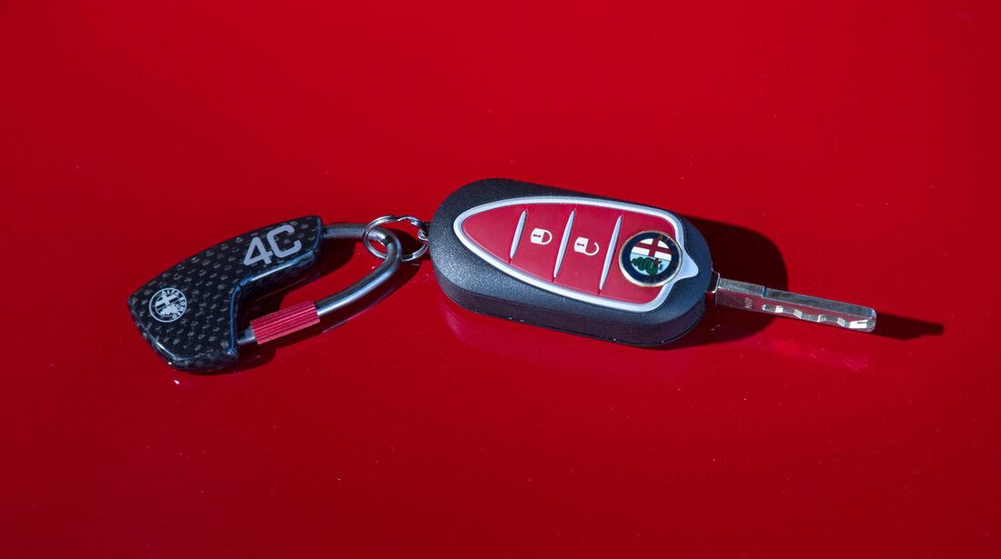 Alfa Romeo 4C, Zündschlüssel