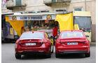 Alfa Romeo Giulia, Audi A4, Heckansicht