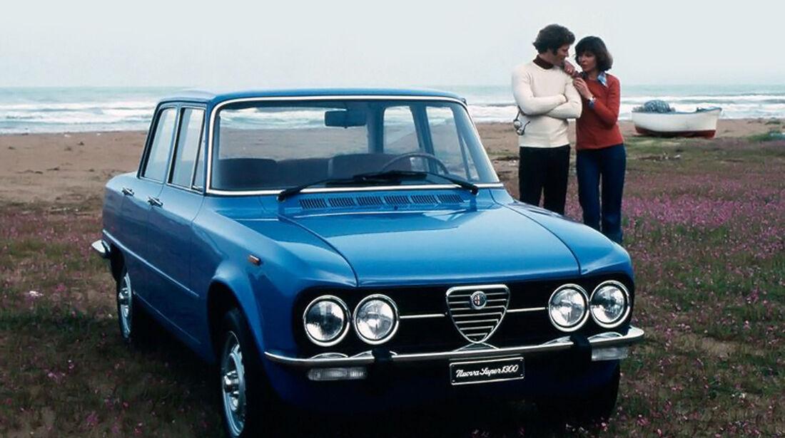 Alfa Romeo Giulia Nuova 1974