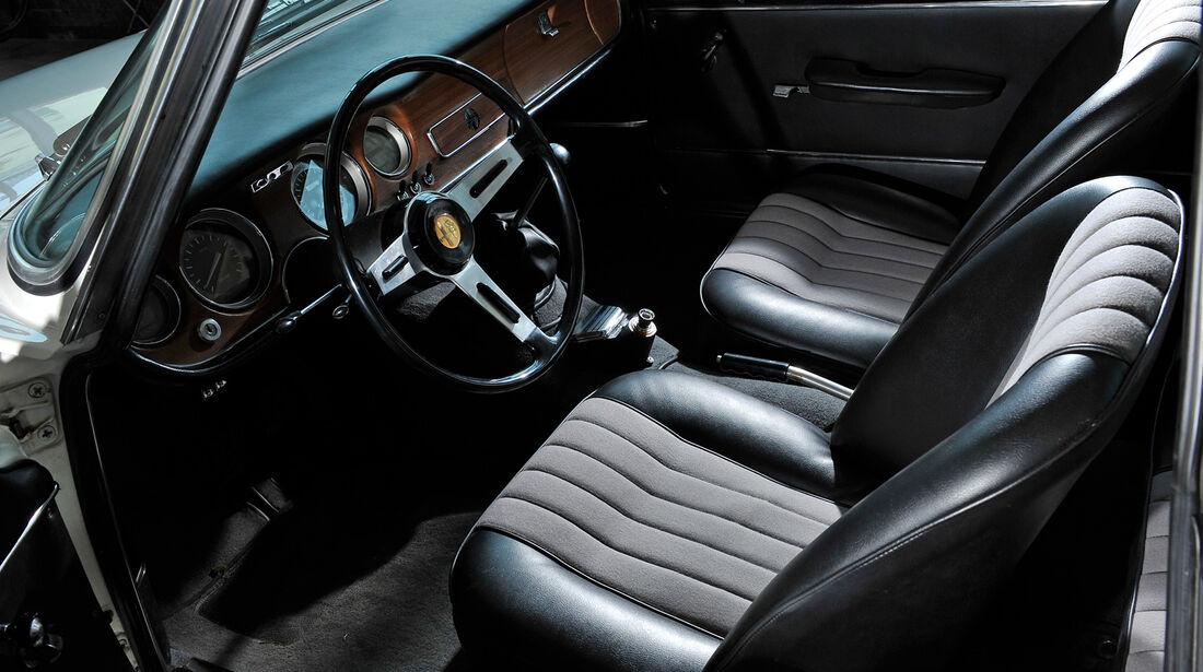 Alfa Romeo Giulia Sprint GT, Fahrersitz