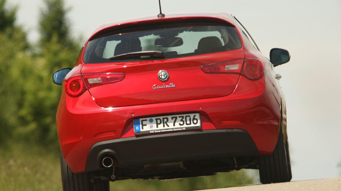 Alfa Romeo Giulietta 1.4 TB 16V, Rückansicht, Heck