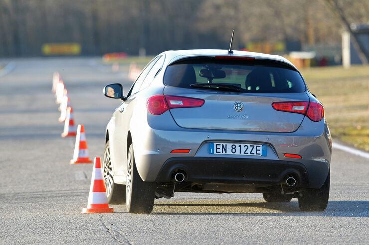 Alfa Romeo Giulietta 2.0 JTDM, Heckansicht