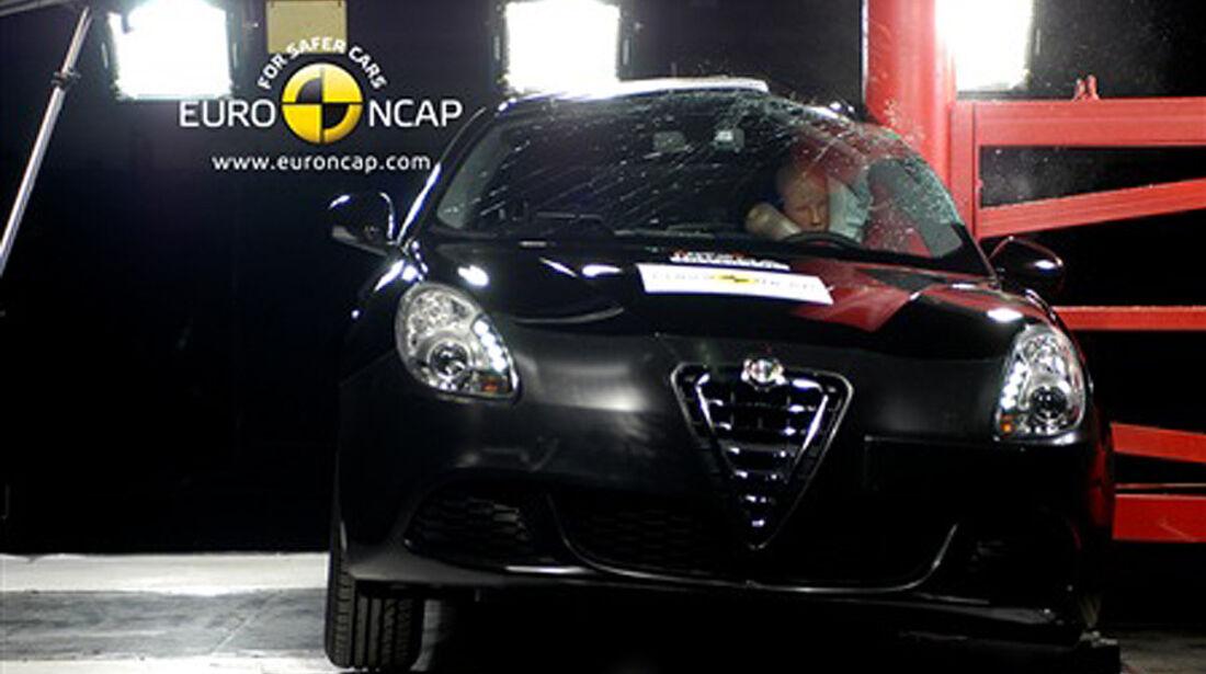 Alfa Romeo Giulietta Crashtest