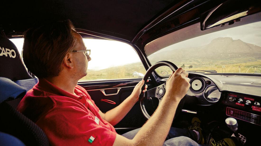 Alfa Romeo Giulietta Sprint Veloce, Cockpit