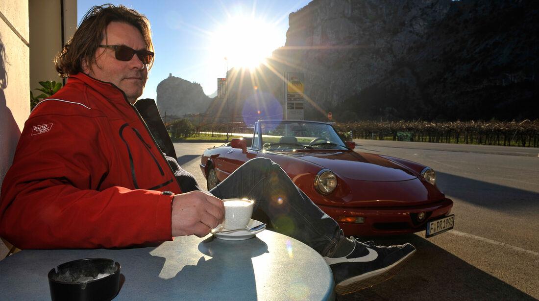 Alfa Romeo Spider 2.0, Cafe, Heinrich Lingner